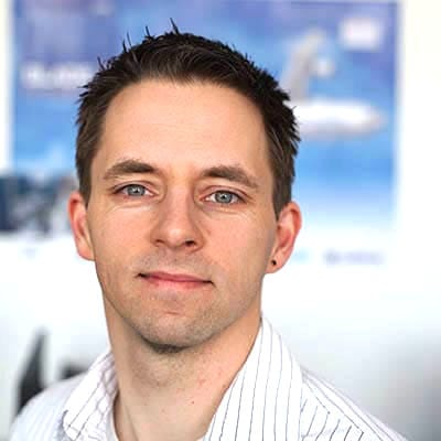 Picture ofMartin Häberer, the Software Developer of 5micron